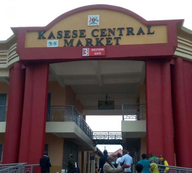 Kasese Central Market will be occupied by traders next month.